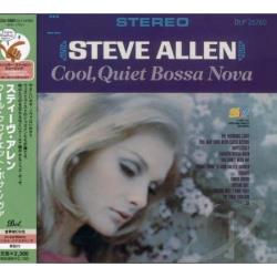 Allen, Steve - Cool Quiet Bossa Nova CD Cover Art