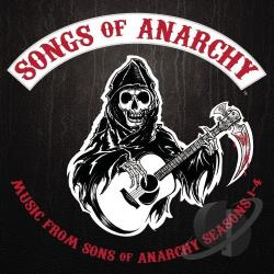 Songs of Anarchy: Music from Sons of Anarchy Seasons 1-4 CD Cover Art