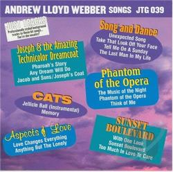 Webber, Andrew Lloyd Songs - Karaoke: Webber, Andrew Lloyd Songs CD Cover Art