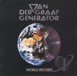 Van Der Graaf Generator - World Record CD Cover Art