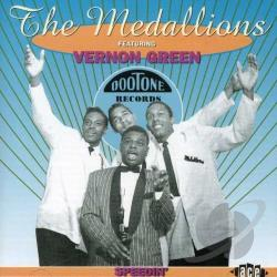 Green, Vernon / Medallions - Speedin' CD Cover Art