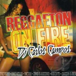 Reggaeton On Fire CD Cover Art