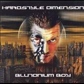 Blutonium Boy - Hardstyle Dimension CD Cover Art