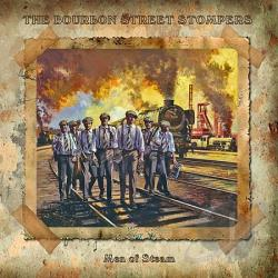 Bourbon Street Stompers - Men Of Steam CD Cover Art