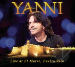 Yanni - Yanni: Live in el Morro Puerto Rico CD Cover Art