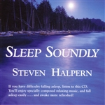 Halpern, Steven - Sleep Soundly CD Cover Art
