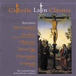 Cathedral Singers - Catholic Latin Classics CD Cover Art