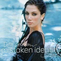 Goodrem, Delta - Mistaken Identity CD Cover Art