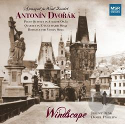 Dvorak - Dvorak for Winds CD Cover Art
