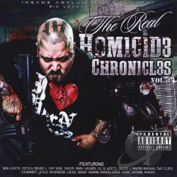 Big Lokote - Vol. 1 - Homicide Chronicles CD Cover Art