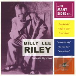 Riley, Billy Lee - Many Sides Of CD Cover Art