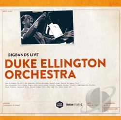 Anderson / Ellington / Jones / Williams - Big Bands Live: Duke Ellington Orchestra LP Cover Art