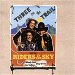 Riders In The Sky - Three On The Trail CD Cover Art