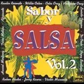Sabor Y Salsa Vol. 2 CD Cover Art