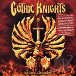 Gothic Knights - Up from the Ashes CD Cover Art