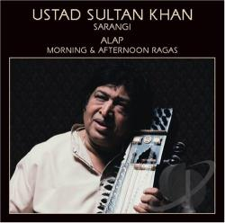 Khan, Sultan - Alap: Morning & Afternoon Ragas CD Cover Art