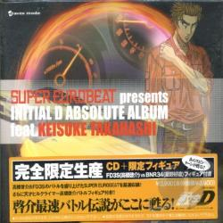 Initial D Absolute Album CD Cover Art