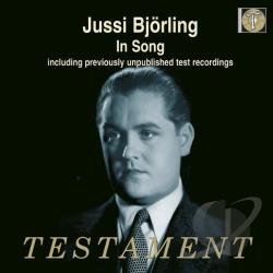 Bjorling, Jussi - Jussi Bjorling in Song CD Cover Art