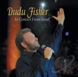 Fisher, Dudu - In Concert from Israel CD Cover Art