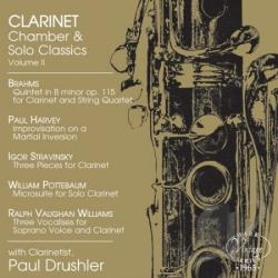 Drushler, Paul Drew - Clarinet Chamber & Solo Classics: Vol. 2 CD Cover Art