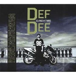 Def Dee - 33 and a Third CD Cover Art