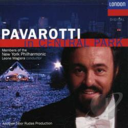 Magiera / NYP / Pavarotti - Pavarotti in Central Park CD Cover Art