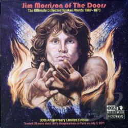 Morrison, Jim - Ultimate Collected Spoken Words: 1967-1970 CD Cover Art