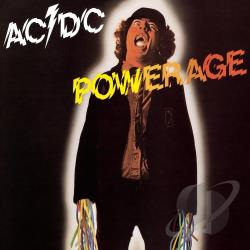 AC/DC - Powerage LP Cover Art