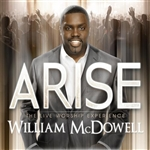 Mcdowell, William - Arise: The Live Worship Experience CD Cover Art