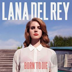 Del Rey, Lana - Born to Die CD Cover Art