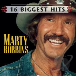 Robbins, Marty - 16 Biggest Hits CD Cover Art