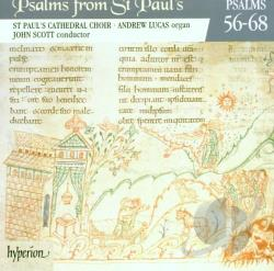Lucas, Andrew / Scott, J-St. Pauls - Psalms From St. Paul's Vol 5 - Psalms 56-68 / Scott, Lucas CD Cover Art