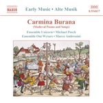 Ambrosini / Ens Oni / Ensemble Unicorn / Posch - Carmina Burana: Medieval Poems and Songs CD Cover Art