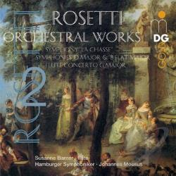 Barner, Susanne - Antonio Rosetti: Orchestral Works, Vol. 2 CD Cover Art