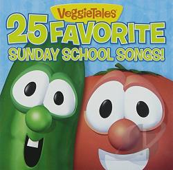 VeggieTales - 25 Favorite Sunday School Songs CD Cover Ar