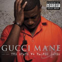 Gucci Mane - State vs. Radric Davis CD Cover Art