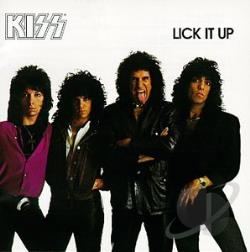 Kiss - Lick It Up CD Cover Art