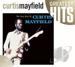 Mayfield, Curtis - Very Best of Curtis Mayfield CD Cover Art