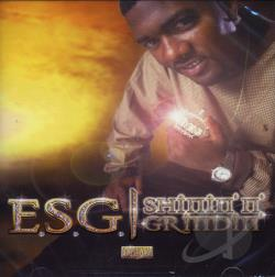 E.S.G. - Shinin' n' Grindin' CD Cover Art