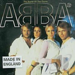 ABBA - Name of the Game CD Cover Art