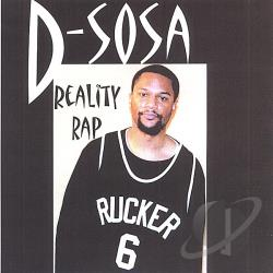 D-Sosa - Reality Rap CD Cover Art