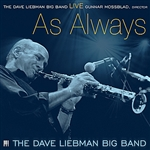 David Liebman Big Band / Liebman, David - Live: As Always CD Cover Art