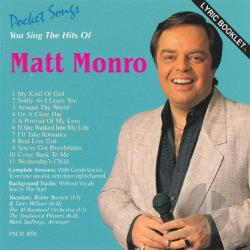 Karaoke - Karaoke: Matt Monro CD Cover Art