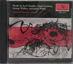 Capitol Chamber Art - Works By Chadabe/Eastham/Walker CD Cover Art