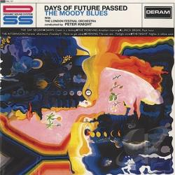 Moody Blues - Days of Future Passed LP Cover Art