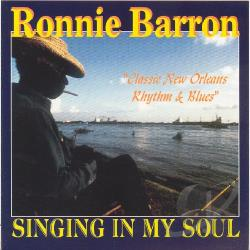 Barron, Ronnie - My New Orleans Soul CD Cover Art