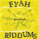 Krosfyah - Fyah Riddums CD Cover Art