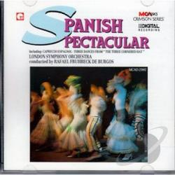De Burgos / Lso - Spanish Spectacular CD Cover Art