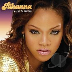 Rihanna 2 - Music of the Sun CD Cover Art