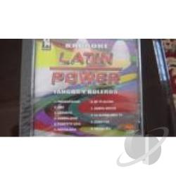 Karaoke - Latin Power Karaoke: Tangos y Boleros CD Cover Art